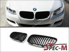 2011+ BMW E92 E93 328i 335i Coupe Convertible Front Kidney Grille Matte Black