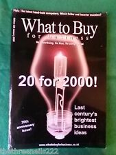 WHAT TO BUY FOR BUSINESS #226 - LAST CENTURYS BEST BUSINESS IDEAS - JAN 2000