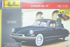 HELLER® 85795 Citroën DS 19 + Cabriolet (2 Automodelle) in 1:16 SONDEREDTION