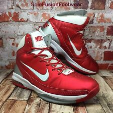 Nike Mens AIR MAX Hyped Trainers Red size UK 9.5 Basketball Sneaker US 10.5 44.5