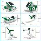 Nice Hot DIY 6 IN 1 Educational Learning Power Solar Robot Kit Children Kids Toy