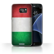 STUFF4 Case/Cover for Samsung Galaxy S7 Edge/G935/Flags/Italy/Italian