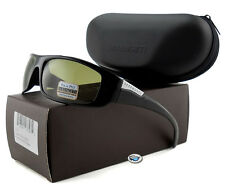 Serengeti FASANO 7704 Polarized Sunglasses | Shiny Black / Polar PhD 555nm Lens