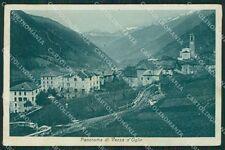 Brescia Valle Camonica Vezza cartolina QK6915