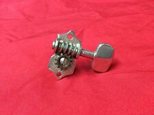 VINTAGE 1959 GROVER OPEN GEAR GUITAR TUNER NICKEL 1960 1961