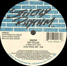 SIMONE - Hey Fellas (G. Morcheln Rmx) - Strictly Rhythm - SRB003 1992 Usa