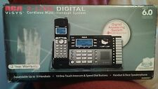 RCA 25250RE1, 2 Lines Cordless Phone, DECT 6.0 interference free communication.
