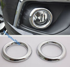 Chrome Front fog light lamp ring cover Trim MITSUBISHI ASX RVR 2016 2017