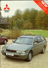 Mitsubishi Sigma Estate 3.0 V6 1992-93 UK Market Preview Foldout Sales Brochure