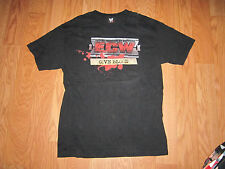 VINTAGE WWE WWF ECW GIVE BLOOD T SHIRT PAUL HEYMAN RVD TAZ WRESTLING TEE LARGE