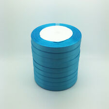 "New 25 Yards 3/8"" 10mm Bulk Satin Ribbon Craft sewing Supplies crafts Sky blue"