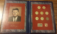 John F. Kennedy Commemorative Coin and Stamp Portfolio