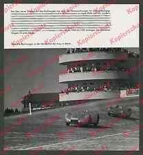 Avus Mercedes-Benz W 125 Stromlinie Silberpfeil Berlin Hermann Lang Fagioli 1937