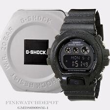 Authentic Casio G-Shock Men's Black Mettalic S Series Watch GMDS6900SM-1