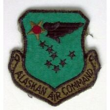 U.S.A.F. ALASKAN AIR COMMAND PATCH ORIGINALE PORTATO