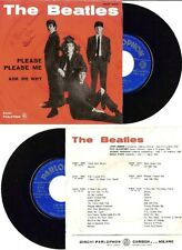 BEATLES RARO 45 Giri del 1963 PLEASE PLEASE ME / ASK ME  - PARLOPHON  ITALIA