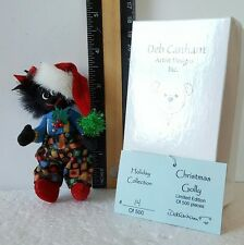 Deb Canham Holiday Collection Christmas Bear Black LE 14/500