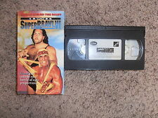 SUPERBRAWL VI wcw vhs wrestling SHIP WORLDWIDE