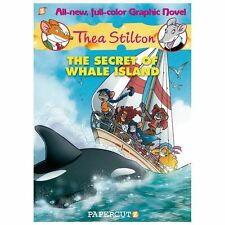 The Secret of Whale Island No. 1 by Thea Stilton (2013, Hardcover)