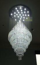 D120xH270(CM) Large Crystal Pendant Light Ceiling Lamp Chandelier LED Lighting