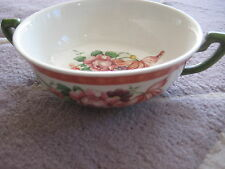 Vintage Villeroy & Boch Fiorello Mit Handmalerei Germany Suppentasse Soup Bowl