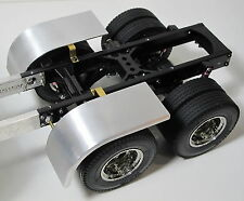 Pair Aluminum Half fender Cover Tamiya RC 1/14 Semi King Knight Hauler Tractor