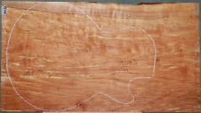 "Spalted Maple #5426 ONE PC.Electric Guitar top 24&1/2"" x 13&1/2"" x 1/2"""