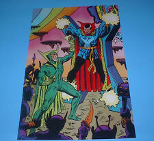 MARVEL COMICS DR STRANGE VS BARON MORDO POSTER PIN UP