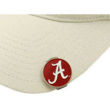 ALABAMA CRIMSON TIDE Hat / Cap Clip with Double Sided Golf Ball Marker