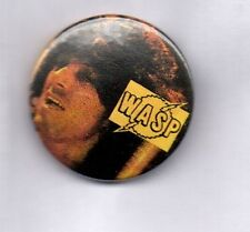 WASP BUTTON BADGE American Heavy Metal Band - The Crimson Idol  25mm Pin