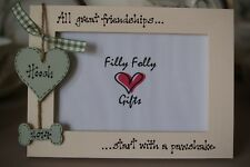 Personalised Photo Frame by Filly Folly! Dog Pet Frame!