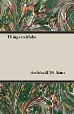 Things to Make-ExLibrary