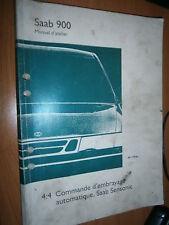 Saab 900 : manuel atelier partie 4:4 Commande embrayage Sensonic 1994...