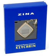 Zina - USB Digital Keychain w/ Diagonal Photo Viewer LCD Screen