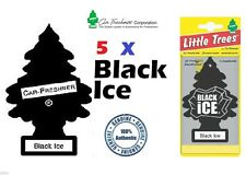 5 X BLACK ICE SCENT MAGIC TREE CAR/HOME/VAN/OFFICE AIR FRESHENERS BULK BUY