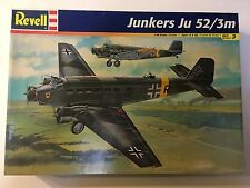 Revell Junkers Ju 52/3m Model Kit 1/48 Scale Transport Plane WWII German