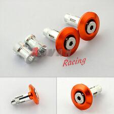 Orange Aluminium Handlebar end plug Fit KTM 125 200 390 DUKE