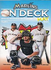 TAMPA BAY RAYS @ MIAMI MARLINS PROGRAMME  3/6/2014