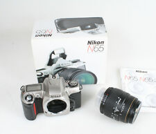 NIKON N65 KIT IN ORIGINAL BOX WITH MANUALS WITH 28-80MM LENS FOR NIKON