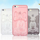 Authentic Disney Clear Jelly Case iPhone 6/6S Case iPhone 6/6S Plus Case 10 Type