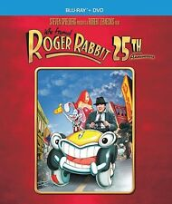 WHO FRAMED ROGER RABBIT New Sealed Blu-ray + DVD 25th Anniversary Edition Disney