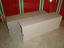 LGB 4085 SERIES CONTAINER CAR SIDE OPENING OUTER CARDBOARD BOX SLEEVES 2 PCS LN!