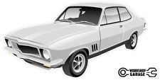 New! Collectable Holden LJ Torana GTR XU-1 2Door - Silver