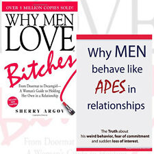 Why Men Collection 2 Books Set (Why Men Love Bitches,Why Men Behave like Apes)