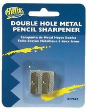 Helix 17047 Metal 2-Hole Pencil Sharpener