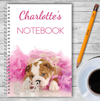 A5 & A4 PERSONALISED NOTEBOOKS, NOTE BOOK, NOTE PAD, 50 LINED OR BLANK /05