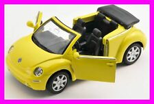 BLITZ VERSAND VW New Beetle gelb / yellow 1:34-39 Welly Modell Auto NEU & OVP