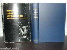 MODERN CRIMINAL INVESTIGATION H Soderman/ John J O'Connell CRIME Police HARDBACK