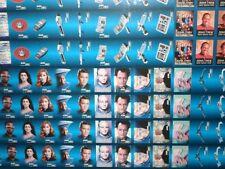 Star Trek Next Generation Hostess chips rare uncut card sheet 1987