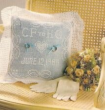 LOVELY Ring-Bearer's Wedding Pillow/Decor/Crochet Pattern INSTRUCTIONS ONLY